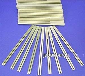 10X 100Pcs Dengaku Gushi Bamboo Fork Skewer 6In Ms-012 S-1601X10