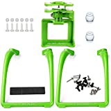 SAMLOO Upgreade Legs & Action Camera Gimbal Mount Holder Adapter Bracket for Syma X8 X8G X8HG X8C X8HC X8W X8HW RC Drone Quadcopter, Green