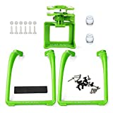 SAMLOO Upgreade Legs & Action Camera Gimbal Mount Holder Adapter Bracket for Syma X8 X8G X8HG X8C X8HC X8W X8HW RC Drone Quadcopter - Green