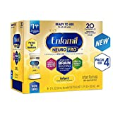 Enfamil NeuroPro Infant Formula - Brain Building Nutrition Inspired by Breast Milk - Ready to Use Liquid, 2 fl oz (24 Count) (3 Pack)