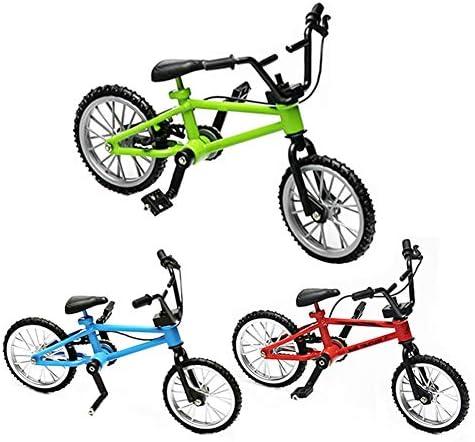 [해외]OWIKAR Mini Bike Finger Bike Zinc Alloy Mini Extreme Sports Finger Bicycle Model Creative Game Toy Decor Crafts for Home Office for Kids (BicycleBrake Rope - 3 Pack) / OWIKAR Mini Bike Finger Bike, Zinc Alloy Mini Extreme Sports Fi...