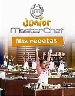 MasterChef. Mis recetas (Masterchef Junior): Amazon.es: Varios ...