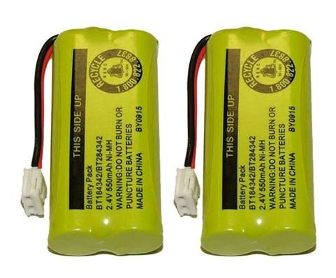 Axiom Cordless Home Phone Battery for ATT BT184342 BT28433, 2-Pack