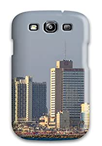 New Style For Galaxy Case, High Quality Tel Aviv City For Galaxy S3 Cover Cases