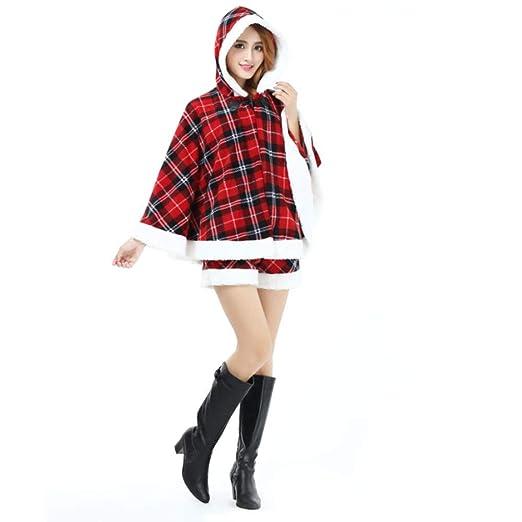 XDDQ Traje De Navidad Mujer,Disfraces De Fiesta De Cosplay ...