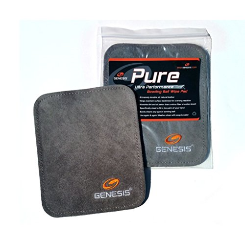 Genesis Pure Pad Bowling Ball Wipe Pad (Bowling Ball Cleaning Wipes)