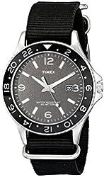 "Timex Men's T2P034KW ""Ameritus"" Watch with Black Nylon Strap"