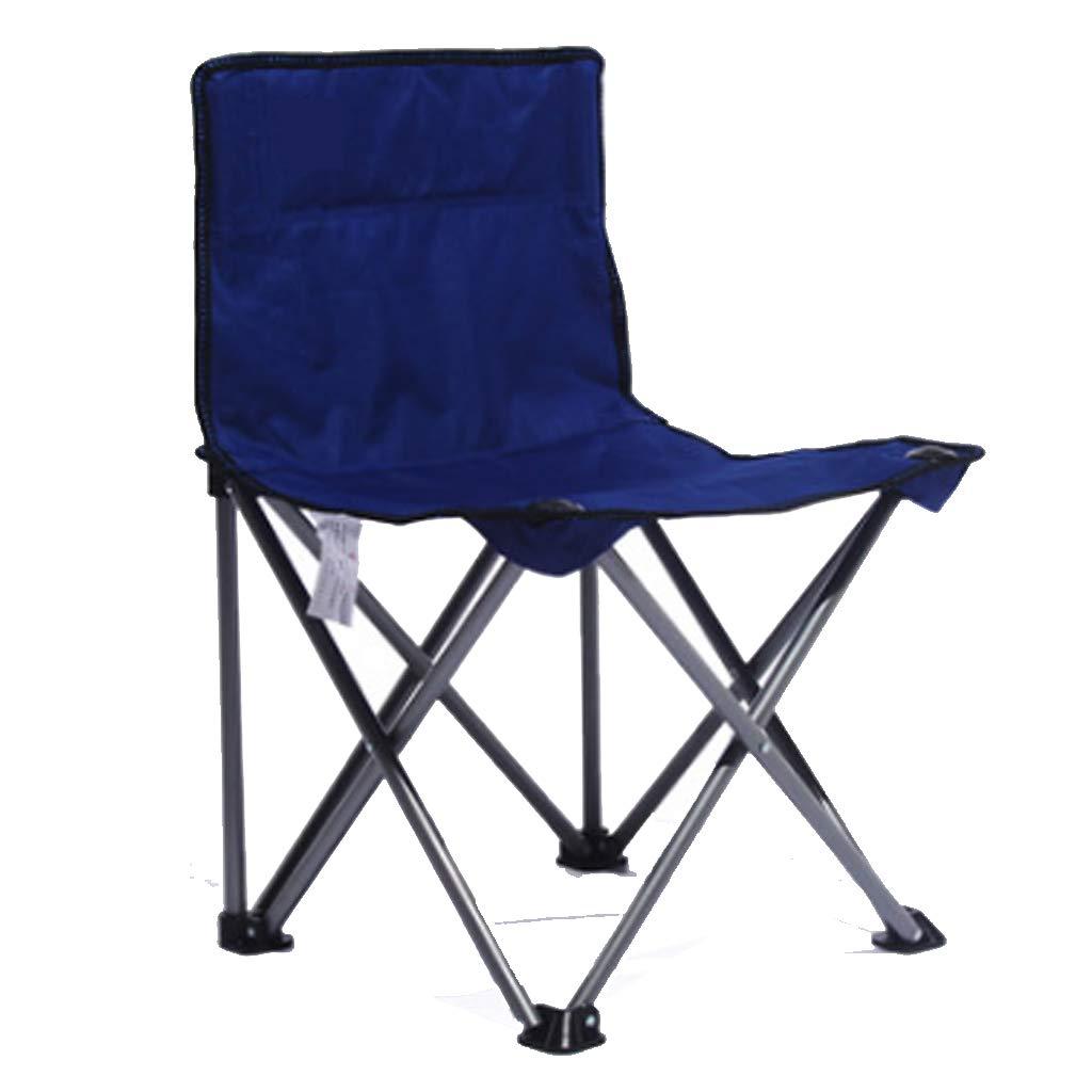 bluee Folding chair Portable Sketch Chair Leisure Chair Art Student Portable Rollsnownow (color   PURPLE)