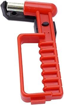 UHAPY Multifunktionale tragbare Gr/ö/ße Outdoor-Sicherheit Nothammer Auto Fenster Auto Glasbrecher G/ürtel Schneidwerkzeug