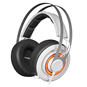 SteelSeries Siberia Elite Prism - Auriculares Gaming, Color Blanco