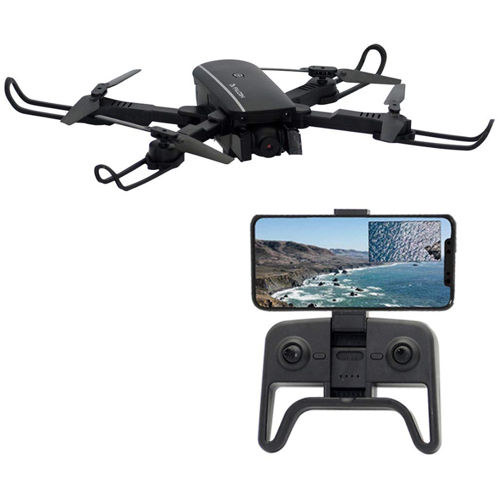 Rigel7 1808 WiFi FPV 1080P/480P Dual Camera Optical Flow Positioning RC Drone RTF Altitude Hold Mode Gesture Photo Control Headless Mode (Black) by Rigel7