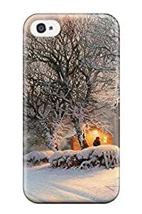 Forever Collectibles Winter Artistic Abstract Artistic Hard Snap-on Iphone 4/4s Case