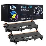 Compatible Brother (TN-450BK / TN450BK / TN450 / TN-450) Toner Cartridges for Brother MFC 7360N 7460DN 7860DW / HL 2220 2230 2240 2240D 2270DW 2280DW Printer - 2 Pack - Black