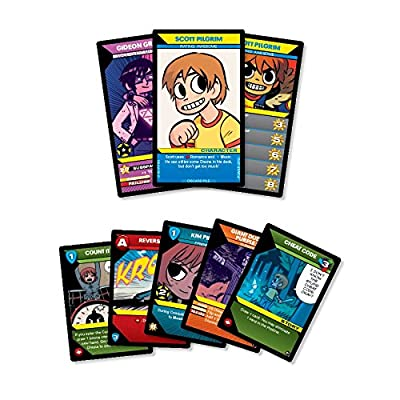 Scott Pilgrim's Precious Little Card Game: Game: Toys & Games