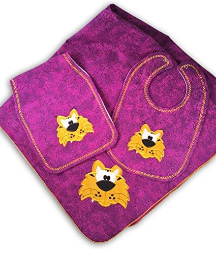 Gift For Baby LSU Tigers Nursery Bundle by Mimis Favorite (Image #8)