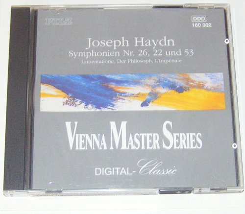 Joseph Haydn - Vienna Masters Series - Symphonies 22, 26 & - Outlet Sales San Marcos