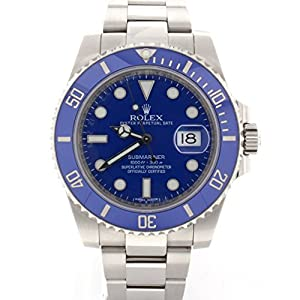 Rolex Rolex Submariner automatic-self-wind mens Watch 116619 (Certified Pre-owned)