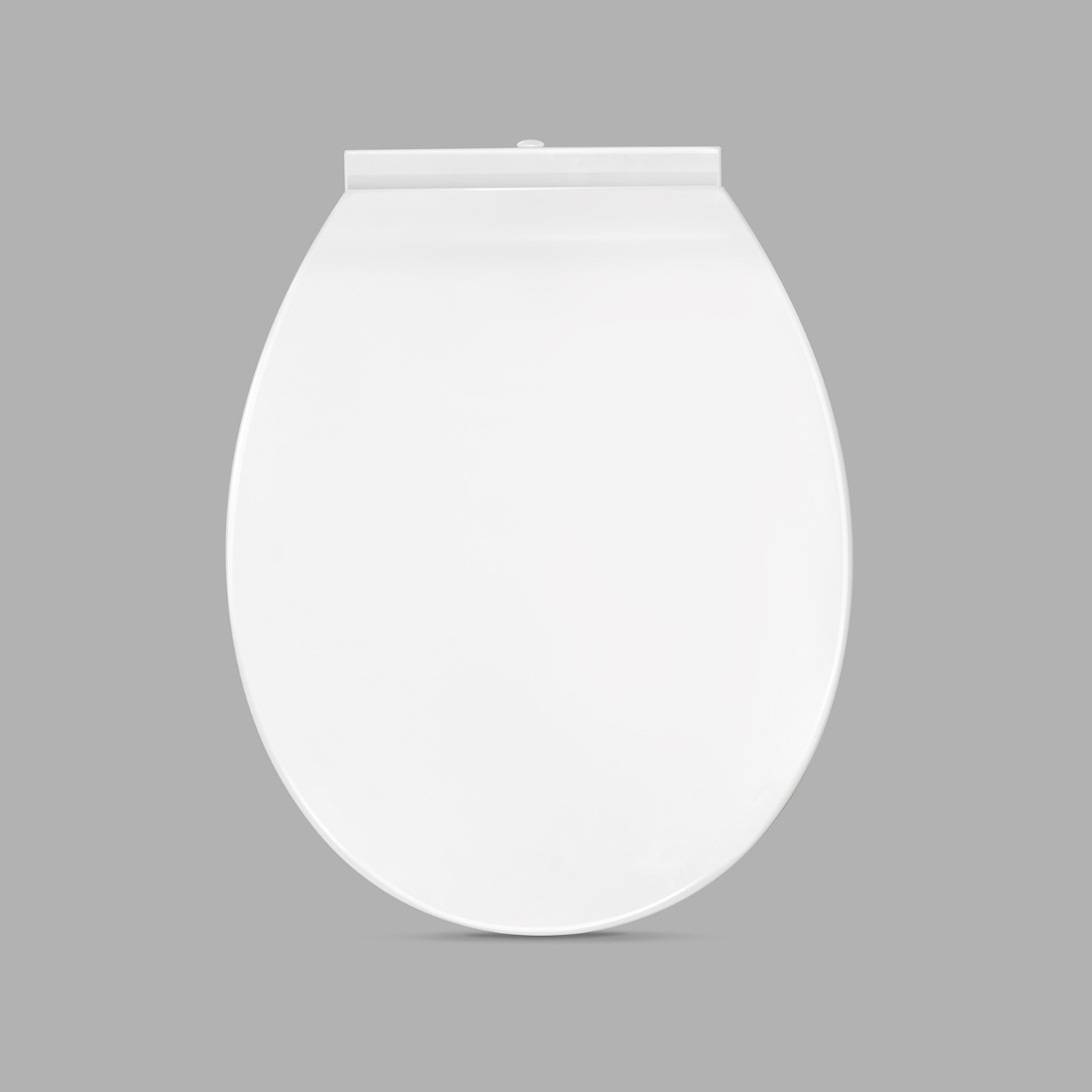 Modern Bathroom Curved White Soft Close Durable Toilet Seat CL624SEAT iBathUK