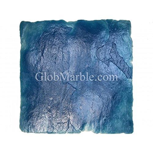 24Inch by 24Inch Seamless Concrete Texturing Skin Slate Pattern GlobMarble Skin Mat SKM 2300