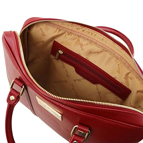 Tl141626 Tuscany Rojo Para Mujer Hombro Compact De Al Piel Bolso Leather xHZH7