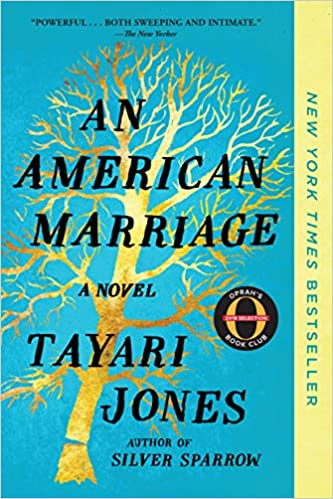 cover image, an american marriage