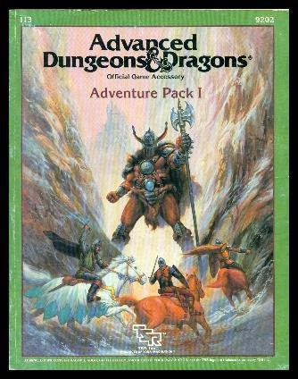Advanced Dungeons and Dragons Special Module I13 : Adventure Pack 1