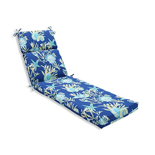 Pillow Perfect Outdoor/Indoor Daytrip Pacific Chaise Lounge Cushion