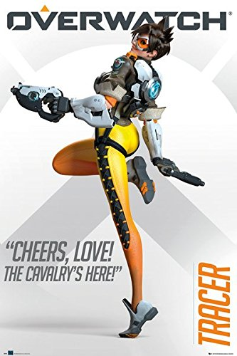 Amazing! LOT Of 2 To Add To Your Collection Overwatch Mini-Posters