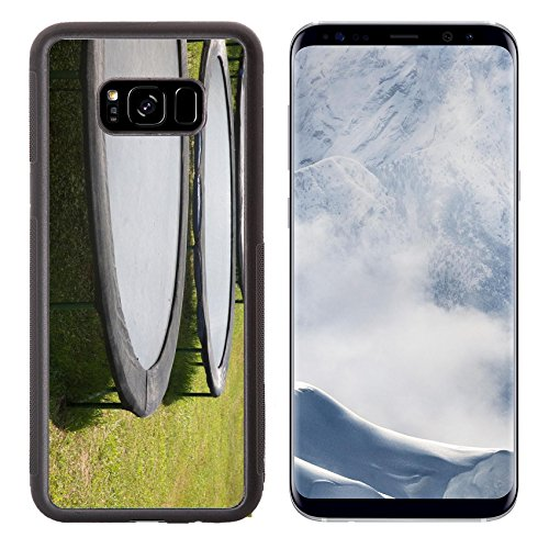 Aluminum Trampoline (Liili Premium Samsung Galaxy S8 Plus Aluminum Backplate Bumper Snap Case Meadow jumping on stage movement 28184121)