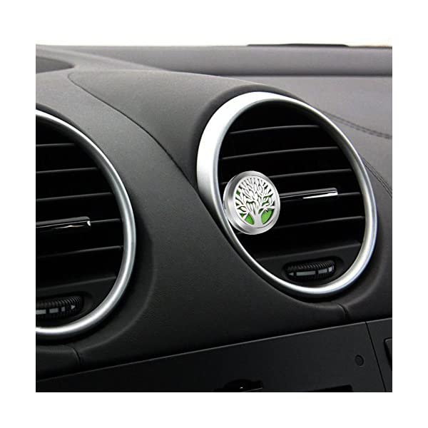 Free 10 Felt Pads Aroma Outfitters Car Fragrance Diffuser By GOOACCto Improve Car Air Quality