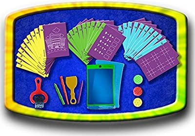 Magic Sketch | LCD Writing Board, Drawing, Doodle, Learning Tablet for Kids, Office, School, House, Car Rides