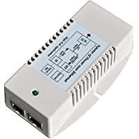 Tycon Systems TP-POE-HP-48GD 56V Gigabit High Power POE Power Inserter - US Power Cord, 35W