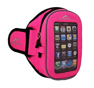 Armpocket Sport i-20 - The Ultimate Armband - Pink, Medium Strap length