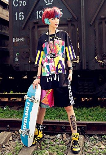 hop gzco Boyfriend Summer 3706 Jp Hip Lisa Cranky Mona Girl Shorts Womens q7wxZFXUw