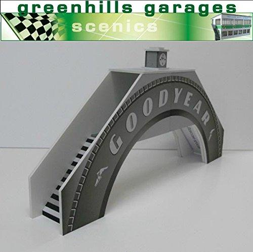 Greenhills Scalextric Slot Car Building Goodyear Bridge Kit 1:32 Scale MACC396