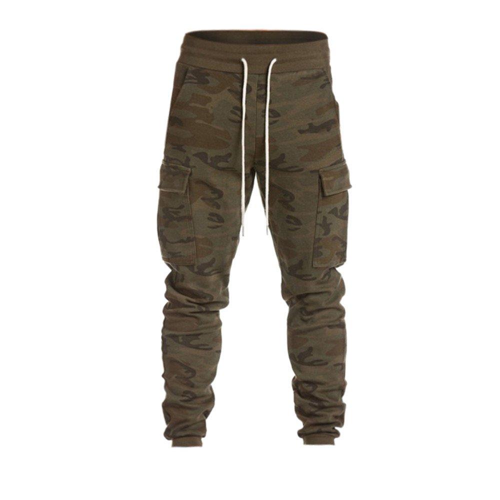 NEEKEY Men Casual Trouser Biker Ripped Skinny Jeans Frayed Slim Fit Denim Pants