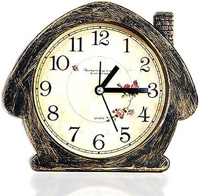 Li-lamp Reloj de Mesa Retro Vintage, Reloj de Mesa de diseño ...