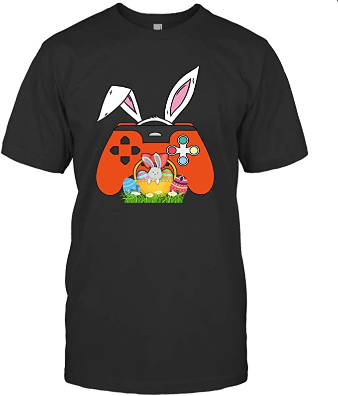 This Is My Easter Pajama Shirt Funny Video Game Control Gamer Easter T-shirt