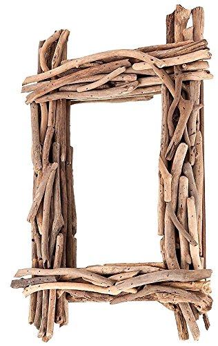 Budawi Eckiger Spiegel Aus Treibholz 55 X 40 Cm Treibgut Spiegel