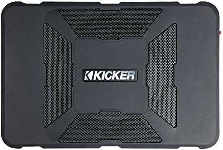 "Kicker 11HS8 8"" 150W Hideaway Car Audio Powered Subwoofer Enclosure HS8 review"