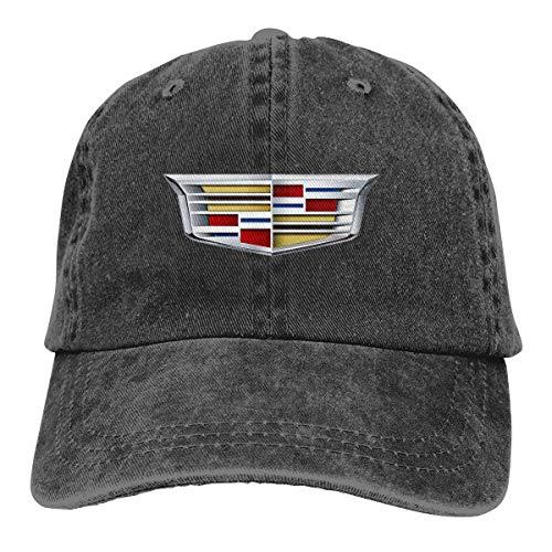 LianLiYa Men Womens Vintage Adjustable Casquette Cadillac 2014 Logo Baseball Cap Hat, Black ()