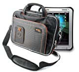 Rugged Accessory Bag With Shoulder Strap For Panasonic Toughbook Tablet By DURAGADGET