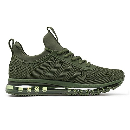 for High Army Shoes Green Top Design OneMix Cushion Trainers Air Men Piece One Running qTTSHtx0w