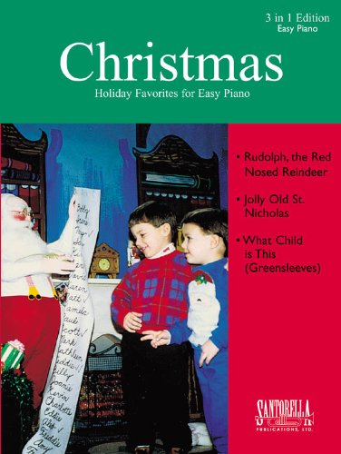 Download Rudolph, The Red Nosed Reindeer, Jolly Old St. Nicholas, What Child Is This (Greensleeves) PDF