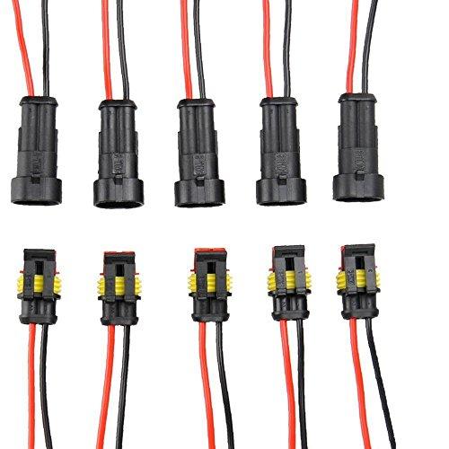 quick connectors amazon com rh amazon com Small Electrical Wire Connectors Electric Connectors for Electrical Wires
