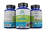 Cheap Detox Liver with Herbal Milk Thistle Extract – by Tried and True Natural Supplements: 450mg Complex 80% Silymarin Milk Thistle Tablets for Liver Cleanse Detox, Glucose Control, Immune System Boost