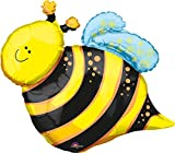 "Anagram International Happy Bee Shape Foil Pack, 25"""