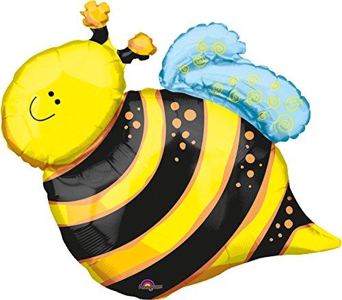Anagram International Happy Bee Shape Foil Pack, 25