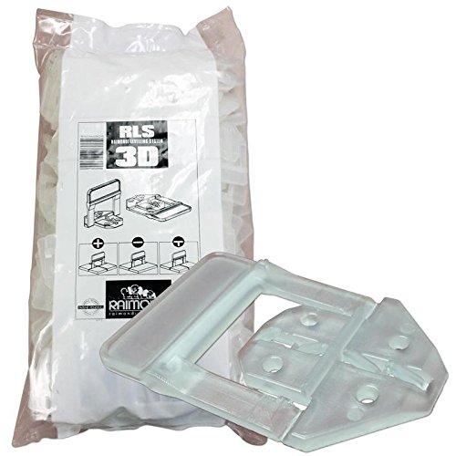 80%OFF Raimondi 3D Clips, Bag Of 250 (LS3D250C)