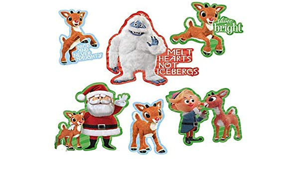 Christmas Cutouts.Amazon Com Character Arts Rudolph The Red Nosed Reindeer